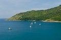 Free Boat At Bay In Phuket Island, Thailand Stock Images - 30939364