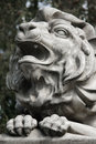 Free Sculpture Of A Lion As A Symbol Of Strength And Greatness Stock Images - 30939384