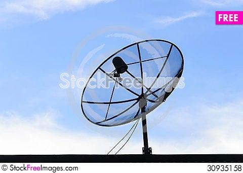 Free Satellite Dish Royalty Free Stock Photos - 30935158