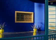Jardin Majorelle II Royalty Free Stock Images