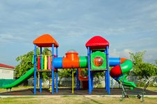 Free Colourful Playground Royalty Free Stock Images - 30932719
