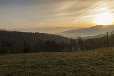 Free Sunrise Over The Mountains Stock Photos - 30933593