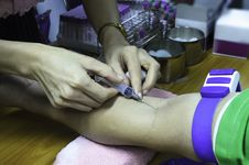 Free Blood Sample Stock Photo - 30934710
