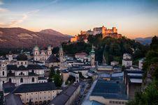 Free Salzburg Roofs Stock Photo - 30935100