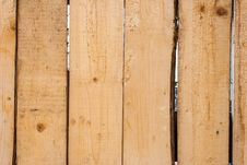 Unpainted Wooden Fence Royalty Free Stock Photo