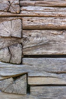 Weathered Wooden Wall Royalty Free Stock Photos