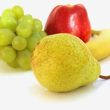 Free Fruit On A White Background Royalty Free Stock Photo - 30939245