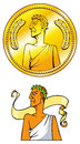 Free Emperor Coin Royalty Free Stock Photography - 30941687