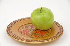 Free Green Apple. Stock Photography - 30940462