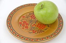 Free Green Apple. Stock Images - 30940484