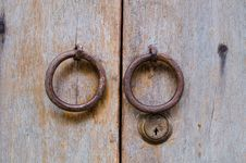 Free Old Doorknob Royalty Free Stock Photos - 30941468