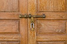 Free Bronz Door Knob Royalty Free Stock Photography - 30942017