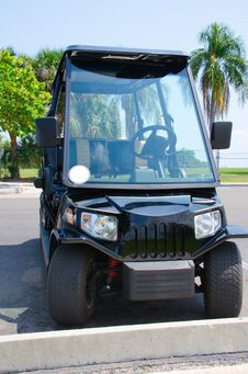 Free High Tech Expensive Golf Cart Royalty Free Stock Photos - 30947298