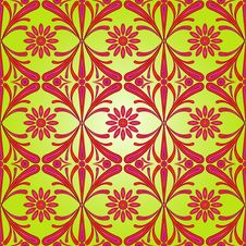 Free Floral Seamless Pattern Royalty Free Stock Photos - 30948128