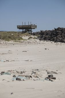 Free Viewing Platform At The South Jetty Stock Photos - 30948363