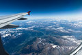 Free Flight Over The Alps Royalty Free Stock Photos - 30957198