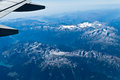 Free Flight Over The Alps Royalty Free Stock Photos - 30957268
