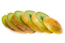 Free Kiwi Fruit Sliced Isolated Royalty Free Stock Image - 30953036