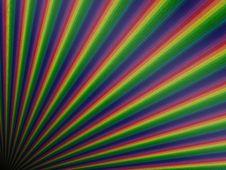Free Perspective Rainbow Planks Royalty Free Stock Photo - 30954685
