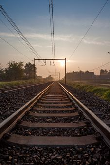 Free Railway Royalty Free Stock Image - 30955276
