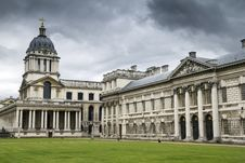 Royal Naval College Greenwich Royalty Free Stock Photos