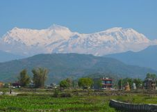 Free Annapurna Himalaya, Nepal Stock Images - 30957414