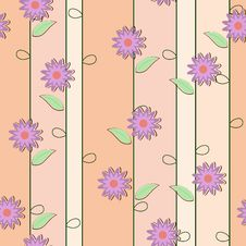 Free Cute Floral Seamless Background Stock Photo - 30958870