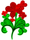 Free Floral Ornament With Colors Royalty Free Stock Photos - 30962738