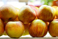 Free Yummy Pile Of Apples In A Market Stall Stock Photo - 30963570