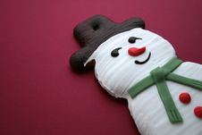 Free Snowman Gingerbread Stock Images - 30962144