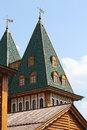 Free Top Of The Tower Of Old Russian Royal Palace Royalty Free Stock Photography - 30970527