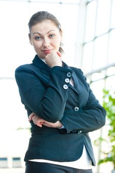 Free Portrait Of Successful Business Woman Smiling Royalty Free Stock Images - 30970369