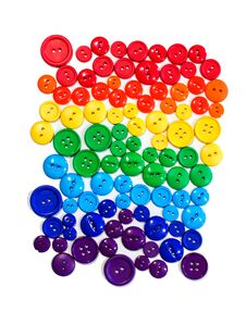 Free Button Rainbow Stock Photo - 30975960