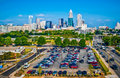 Free Skyline Of Uptown Charlotte, Royalty Free Stock Photos - 30982178