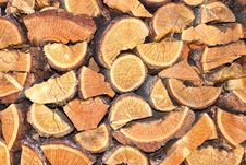 Free Stack Of Wood Royalty Free Stock Photo - 30980305
