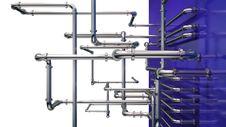 Free Steel Pipeline Background Stock Photo - 30983740