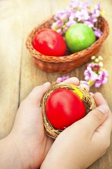 Free Easter Eggs Stock Photography - 30989182