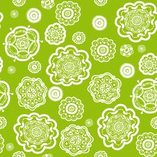 Free Floral Pattern Royalty Free Stock Image - 30990346
