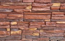 Free Stacked Stone Wall Texture Royalty Free Stock Photography - 30996797