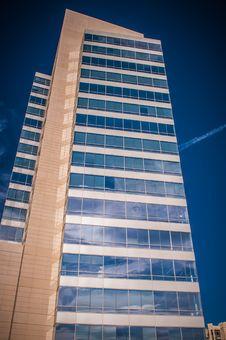 Free Skyline Of A Modern City Royalty Free Stock Photos - 30998398