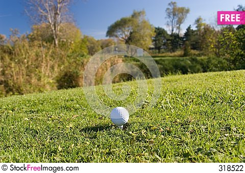 Free Golf Ball 04 Stock Photography - 318522