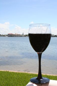 Free Waterfront Wine Royalty Free Stock Photo - 310215
