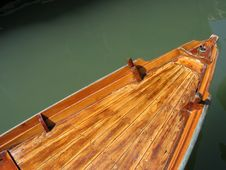 Free Venice Detail 2 – Boat On The Canals Stock Photo - 310400
