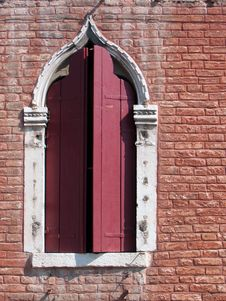 Free Venice Detail 5 – Byzantine Window Royalty Free Stock Image - 310416
