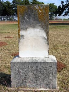 Free Turn Of The Century Tombstone II Stock Images - 310424