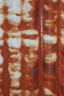 Free Rusted Old Corrugated Iron Stock Image - 310491