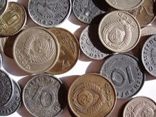 Free Coins Stock Image - 310801