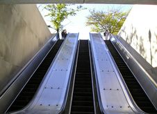 Free Metro Escalator Stock Photos - 311163