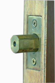 Free Bolt Lock Stock Photo - 312220