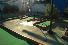 Free Putt Putt Royalty Free Stock Photography - 312947